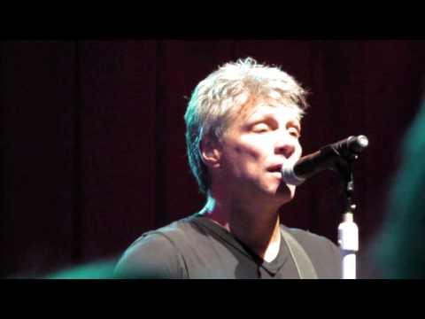 I Wish Everyday Could Be Like Christmas Jon Bon Jovi and the KOS 9 December 2014 Las Vegas mp3
