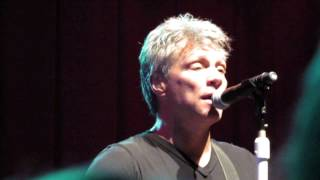 I Wish Everyday Could Be Like Christmas Jon Bon Jovi and the KOS 9 December 2014 Las Vegas