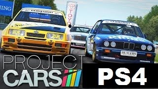 Project CARS - BTCC Classic Touring Cars - PS4