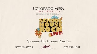 Schoolhouse Rock Live! commercial starring Lee Borden and Trevor Adams