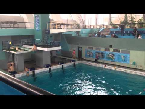 Прыжки в воду[козел вперёд]