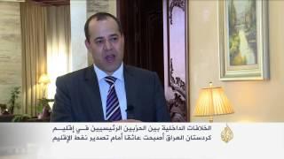 الخلافات السياسية تعيق تصدير النفط بكردستان العراق