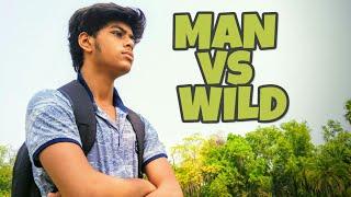 MAN vs WILD || Part - 1|| Funny Version || in Hindi || Bear Grylls