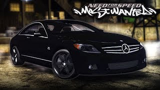 NFS Most Wanted | Mercedes CL65 AMG Mod Gameplay [1440p60]