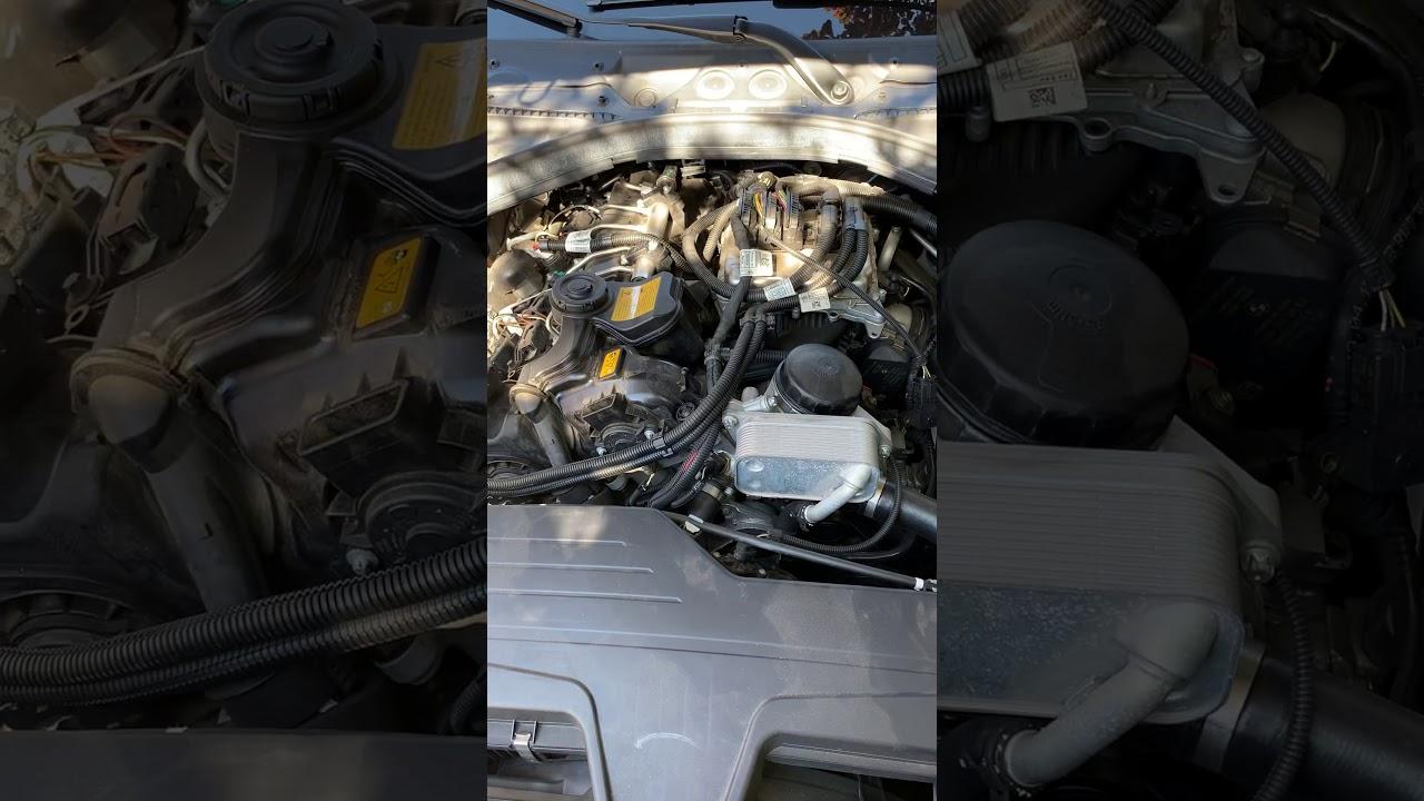 BMW f30 2013 320i n20 Rattling noise