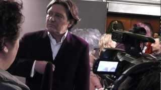 dick maas (filmregisseur)  & pierre bokma op de rodeloper  bij de film premiere quiz