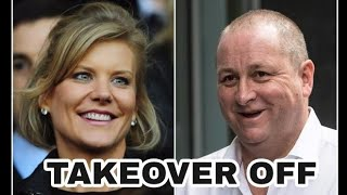 BREAKING NEWS! Talks break down between Mike Ashley and Amanda Staveley to buy Newcastle United