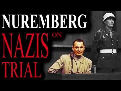 Nazi Leaders on Trial - Nuremberg 1945_Historical Documentary_WW2 Footages of War Crimes_Full Length