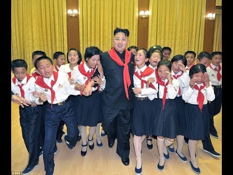 Brainwashed Children and Soldiers Pledge Loyalty to North Korea's Kim