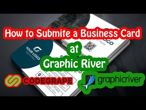 How To  Submit a Business Card at Graphicriver