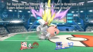 [Smash 4] Jigglypuff and Pikachu's glitched item-throw setups with gyro