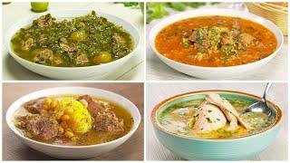 4 знаменитых грузинских супа Рецепты от Всегда Вкусно