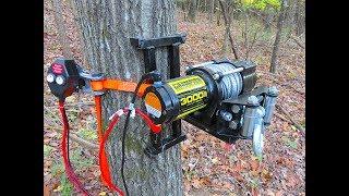 Electric Tree Winch - Portable Deer Winch - Welding