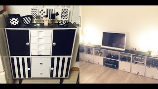DIY カラーボックスを使ってお洒落なインテリア家具に手作りアレンジ Arrange in stylish interior furniture using color box