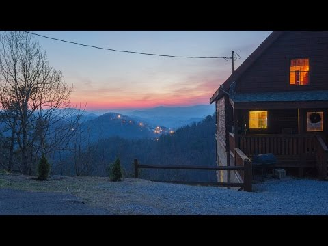 The Perfect Pigeon Forge Smoky Mountain Log Cabin -