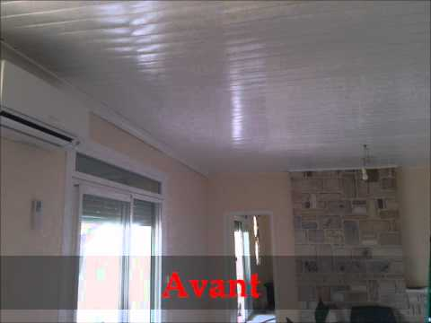 Comment installer un plafond youtube for Plafond en pvc blanc