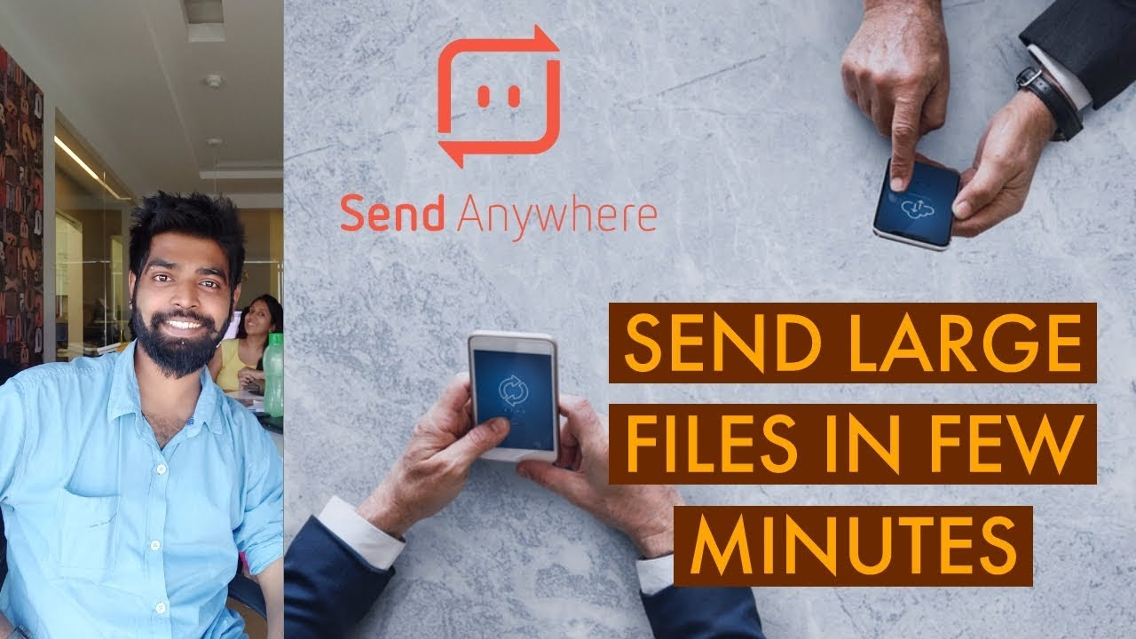 Send Anywhere File Transfer | Send Large files upto 10 GB directly from your phone