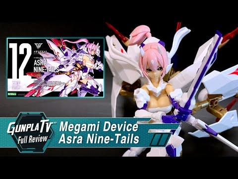 Megami Device Asra Nine-Tails | Gunpla TV