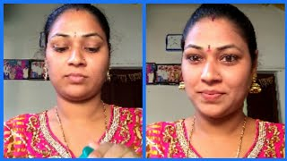 My every day makeup look||indian mom\'s daily simple makeup look with affordable items