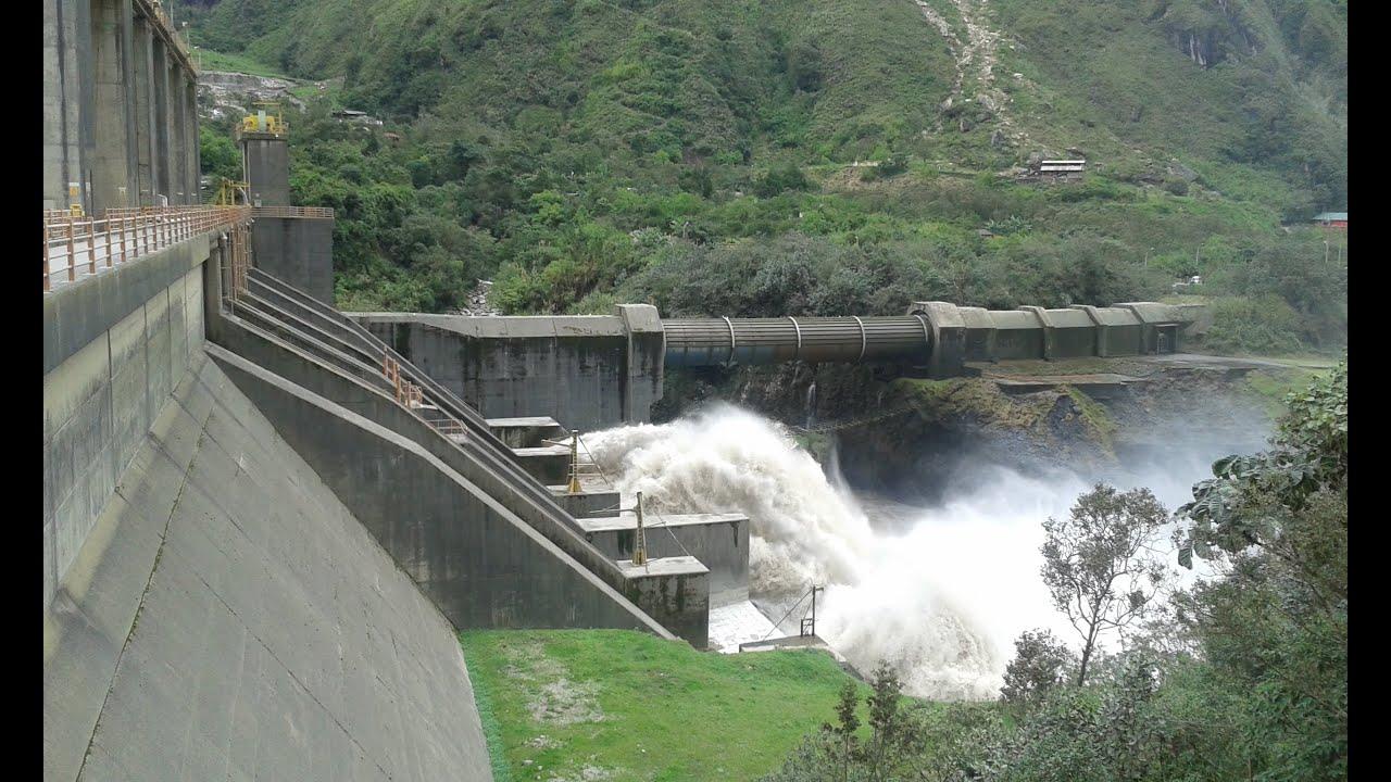 Resultado de imagen de Central hidroeléctrica Agoyán