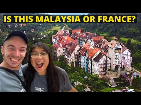French Village in Malaysia? Colmar Tropicale, Bukit Tinggi, Bentong - MALAYSIA TRAVEL GUIDE & VLOG