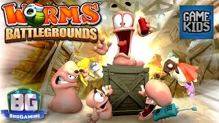 Worms Battlegrounds - Bro Gaming