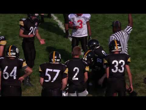 Pontiac Panthers Varsity Full Game Film 8-19-17 Vs Plymouth Steelers