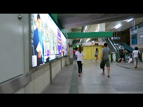 Bangkok Night Walk - BTS Asok to 7-Eleven