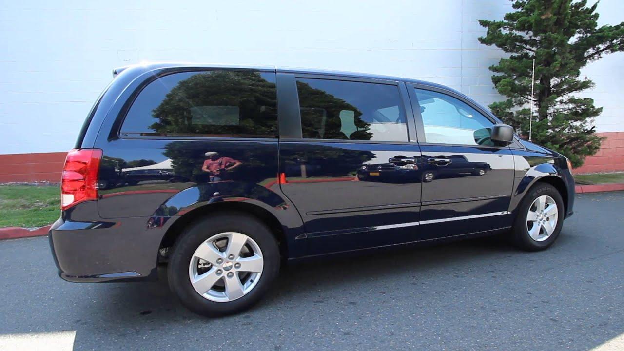 DR618270 | 2013 Dodge Grand Caravan SE/AVP | KirklandDCJ | True Blue Pearl Coat - YouTube