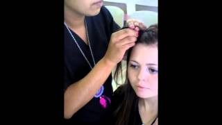 Bella Beauty College: How To Headband Braid Thumbnail