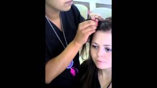 Bella Beauty College: How To Headband Braid Thumbnail