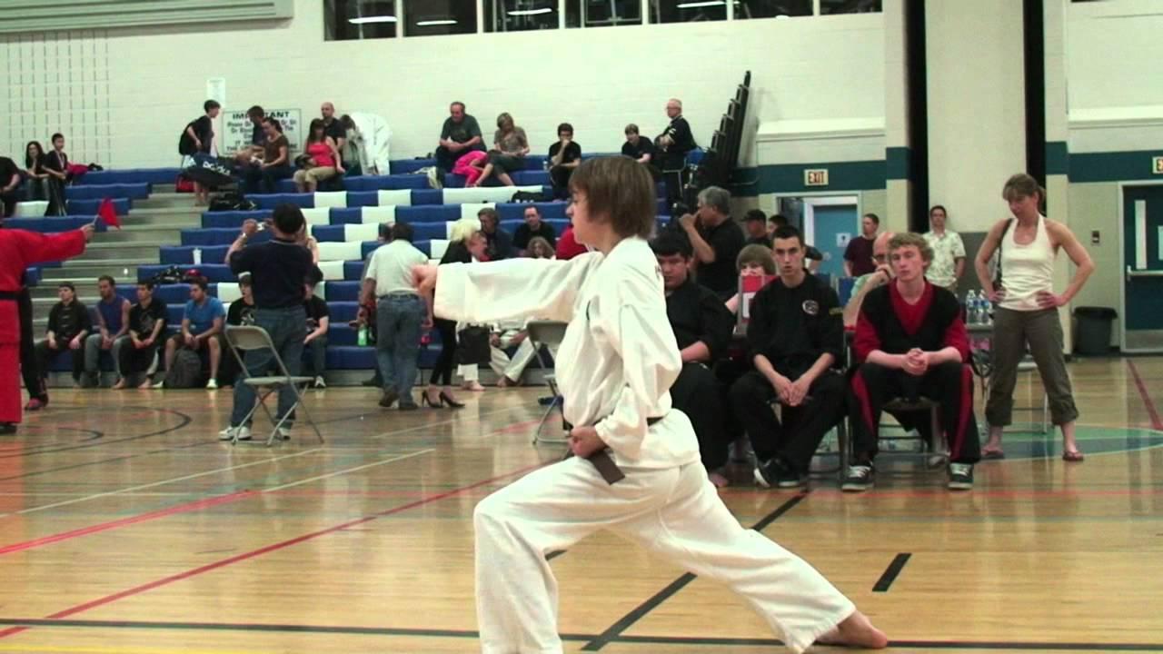 Download Jessmervin's kata - awarding of medal got messed up - Western Canadian Karate Championship 2011