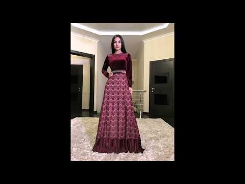 Длинные вечерние платья. Переливающиеся модели