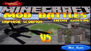 minecraft-minecraft-mob-battles-minecraft-mods-spiderzilla-vs-mobzilla