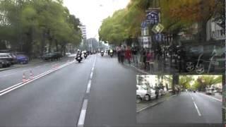 Frankfurt Marathon Streckenvideo