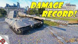 World of Tanks - Jagdpanzer E100 DAMAGE RECORD! (WoT Jagdpanzer E100 gameplay)