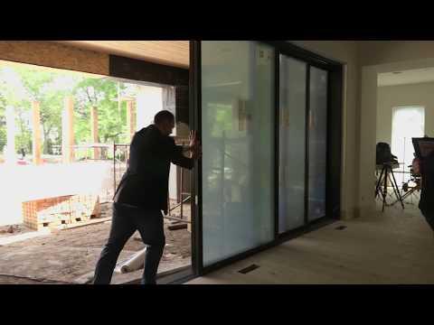 Luxury Home Build Denver: Multi Glide Door by Andersen