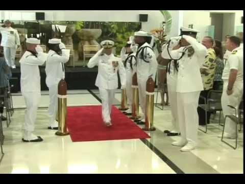 Captain Jeannie Comlish is New Commander of U.S. Naval Hospital Guam