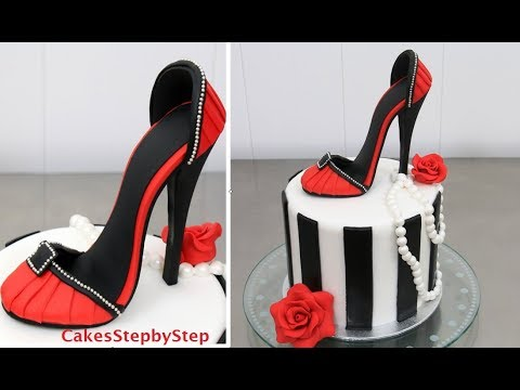 Shoe Cake How To Make A High Heel Stiletto By Cakes Stepbystep