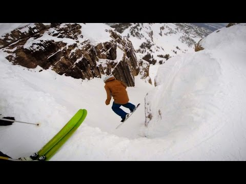 Spring Skiing in Corbet's Couloir - March 2017