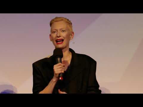 Tilda Swinton discussing Suspiria at the London Film Festival 2018