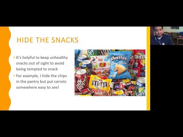 Morgan's Musings- Nutrition Tips