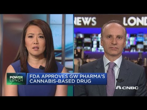 GW Pharma CEO on new cannabis-derived drug
