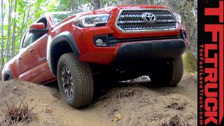 2016 Toyota Tacoma Off-Road: Articulation and Crawl Control Demo