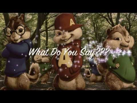 Ylvis - What Does The Fox Say (with lyrics) : BEST Chipmunks version