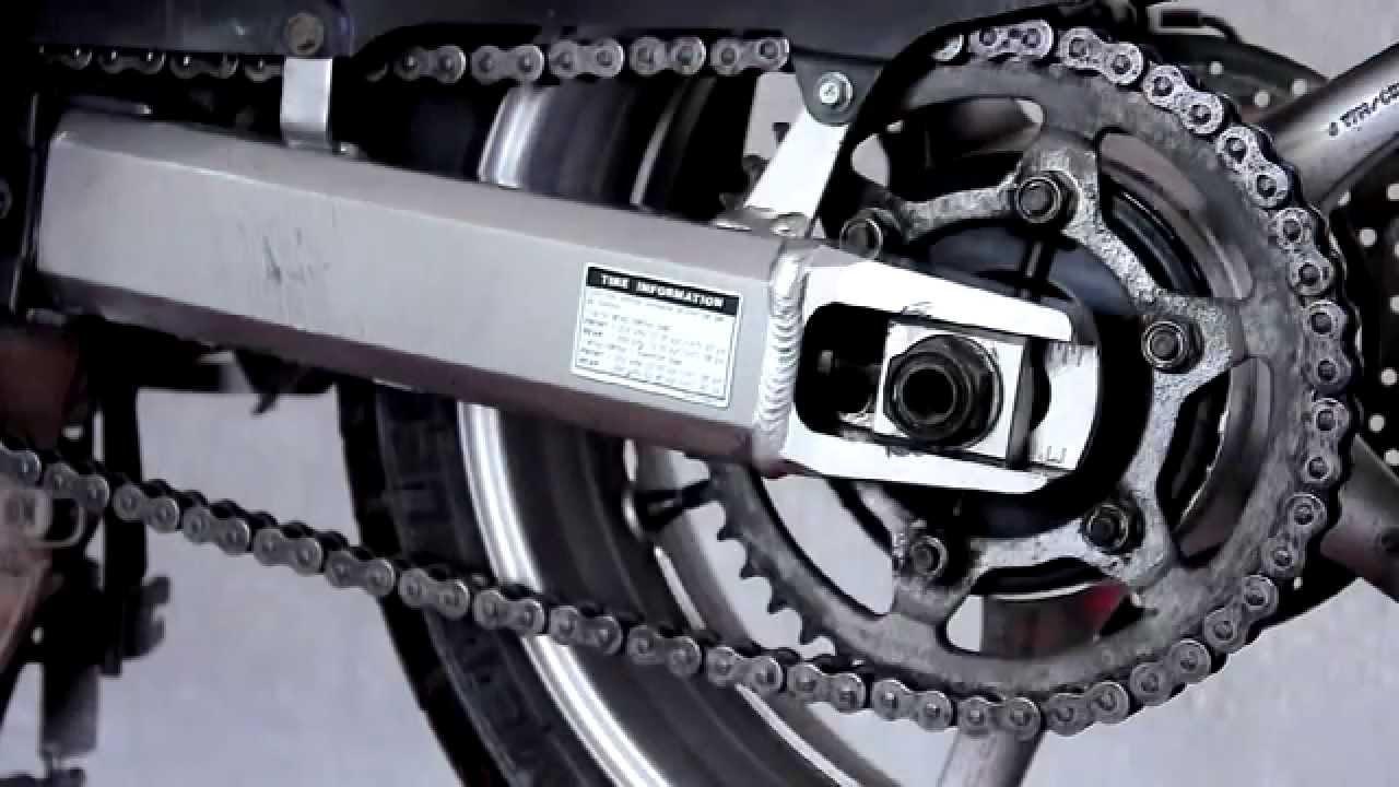 Motobonus Jak Naciągnąć łańcuch W Motocyklu Yamaha Fz6
