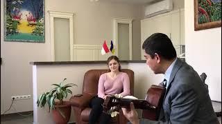 Viral BULE CANTIK UKRAINA nyanyikan lagu Bimbo