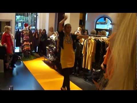 Marimekko Fashion show 2012 in Stockholm