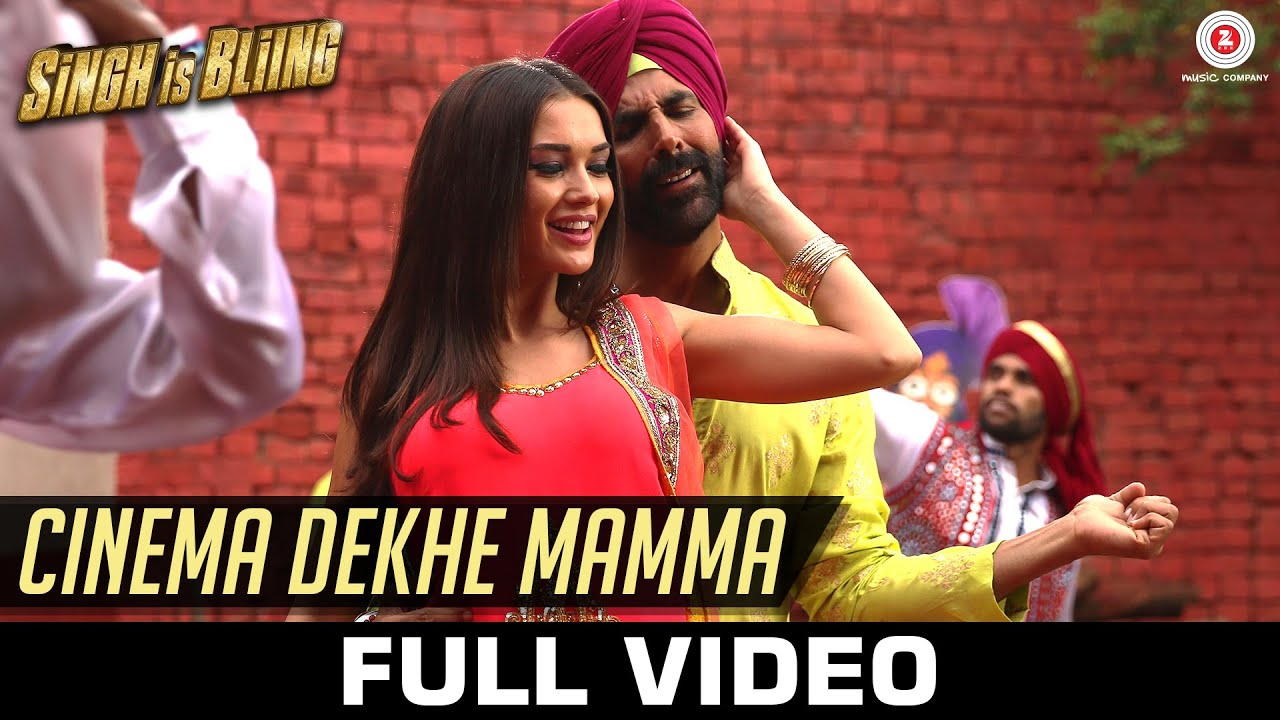 Download Cinema Dekhe Mamma - Full Video | Singh Is Bliing | Akshay Kumar - Amy Jackson