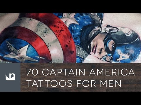 70 Captain America Tattoos For Men